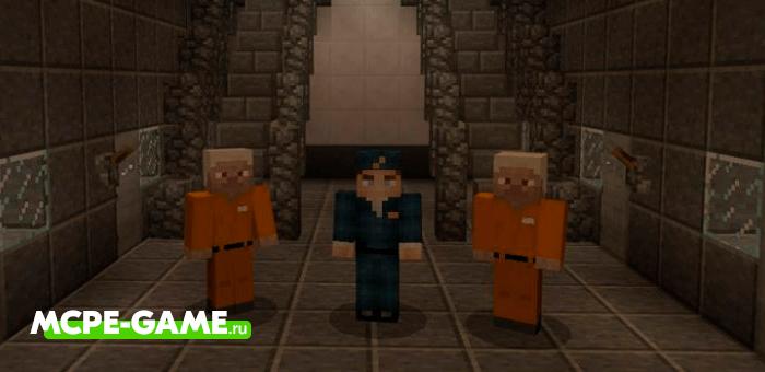 Prison Life — Карта для игры в режиме Побег из Тюрьмы