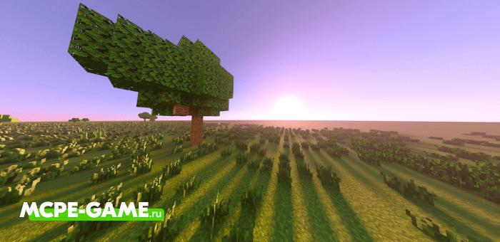 Superflat Survival — Карта плоского мира Майнкрафт для выживания