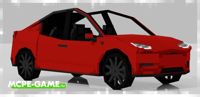 Tesla Model X в Minecraft