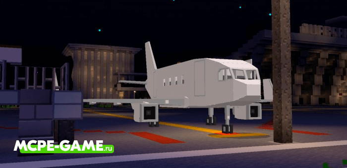 Airliner — Мод на гражданский авиалайнер