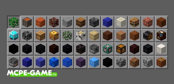 Miniblocks — Мод на 250 Мини Блоков для Minecraft