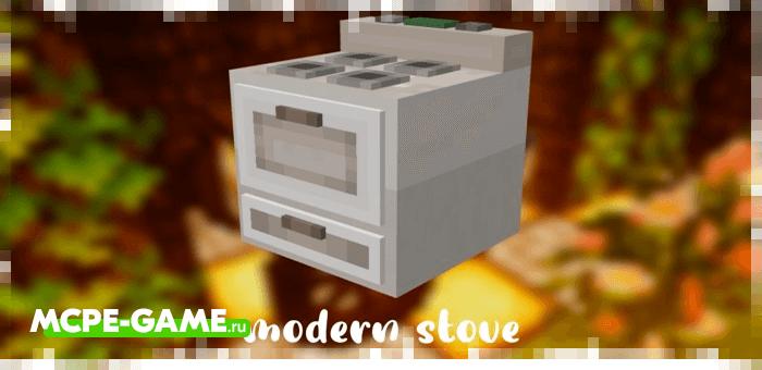 Плита из мода Morriz Craft для Minecraft