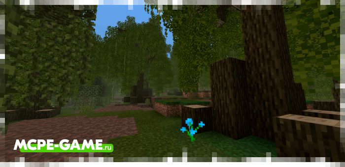 Болотный биом из мода Nature's Spirit для Minecraft