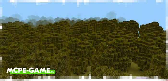 Новые биомы из мода Survivalcraft для Minecraft