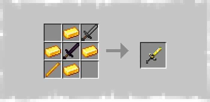 Super Sword from Super Swords mod for Minecraft