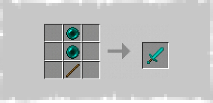 Sword of Ender from Super Swords mod for Minecraft