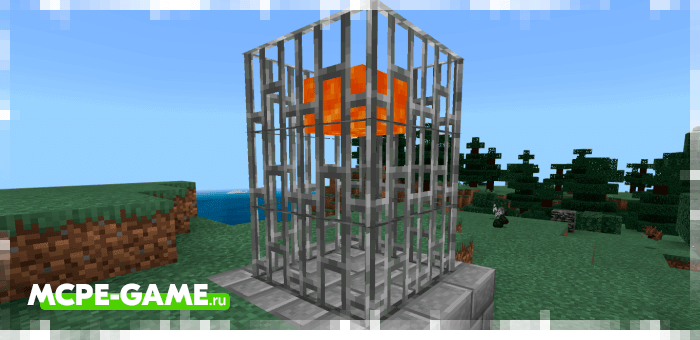 Lava Trap from Unlucky Blocks mod for Minecraft