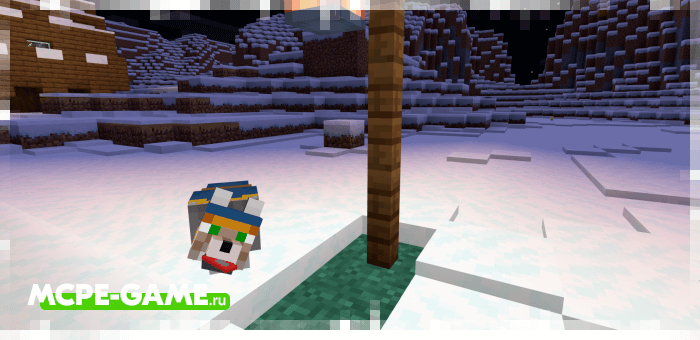 Блуждающий волк из мода Wolves+ для Minecraft