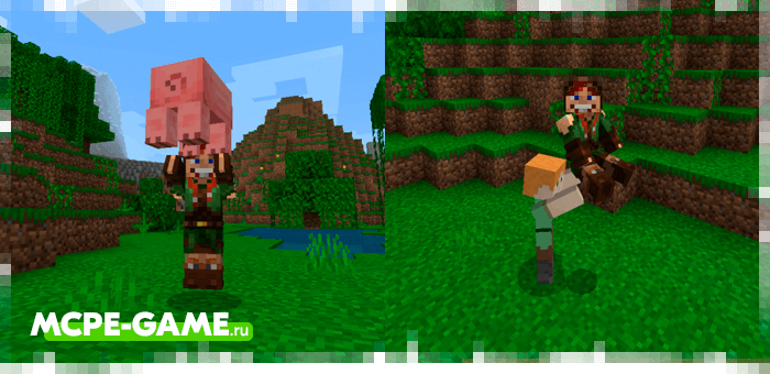 Minecraft More Body Actions Mod