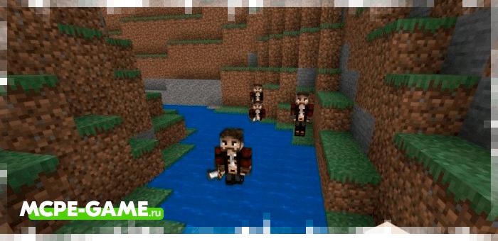 New NPC's from Minecraft Pirates Addon