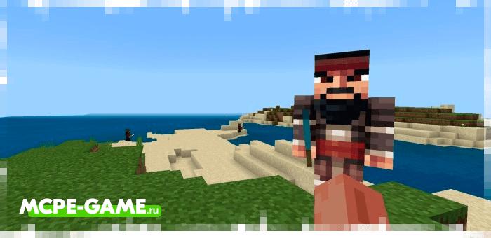 Blackbeard from Minecraft Pirates Addon