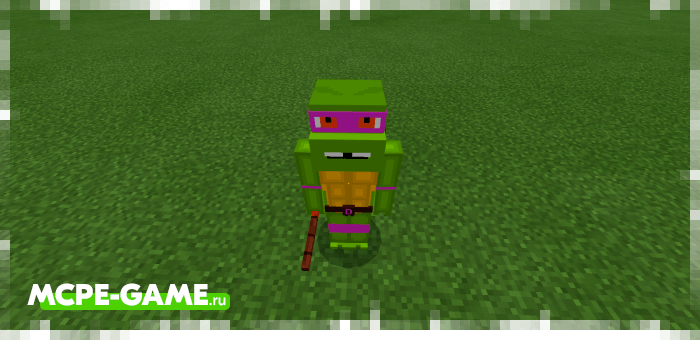 Черепашки-Ниндзя из Майнкрафт мода Teenage Mutant Ninja Turtles