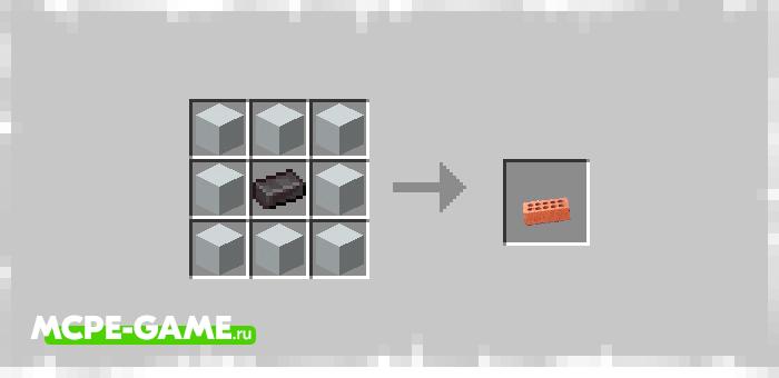Примеры построек и рецепты крафта из мода Instant Builds