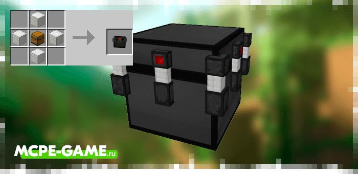 Новые сундуки из мода Lockable Chests для Minecraft