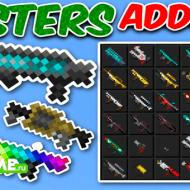 Minecraft Blasters Addon