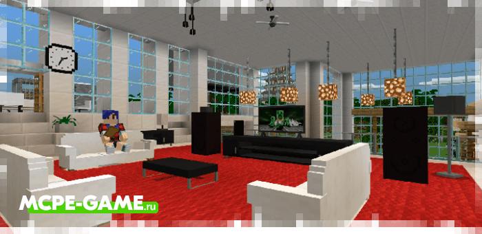 Minecraft BONY162 Furniture Addon