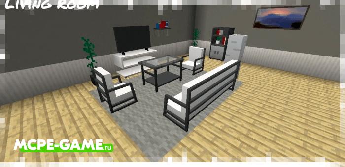 Minecraft Bzf Furniture's Addon