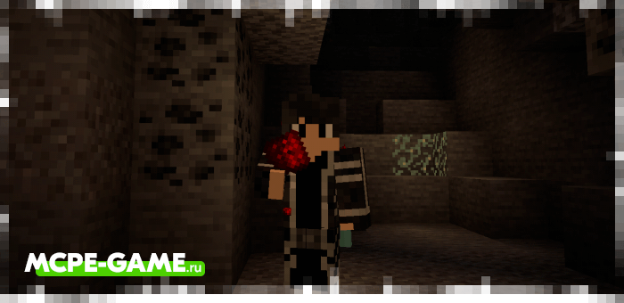 Minecraft Eating Ore Add-on