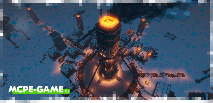 Minecraft Frostcraft Map