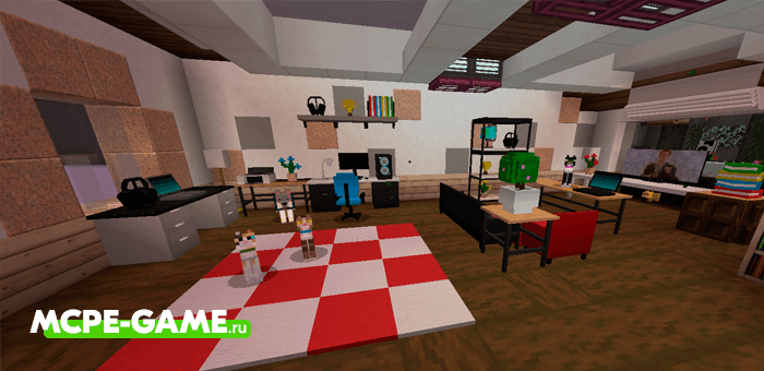 Minecraft Hyva Furniture Add-on