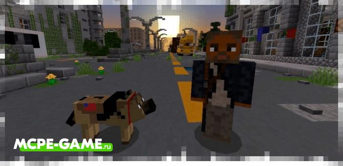 Minecraft I Am Legend Addon