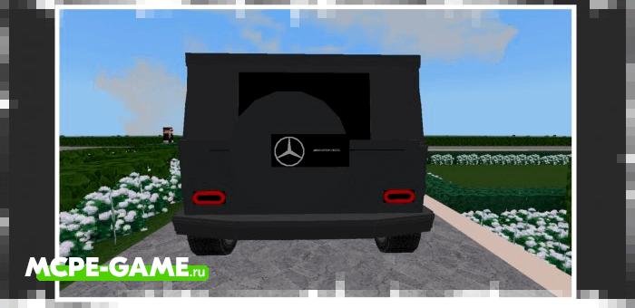 Minecraft Mercedes Benz G Wagon Add-on