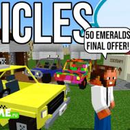 Minecraft More Vehicles Add-on