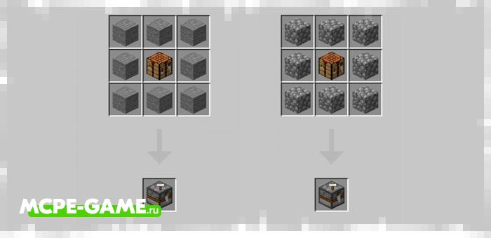 Minecraft Turrets Addon Crafting Recipes