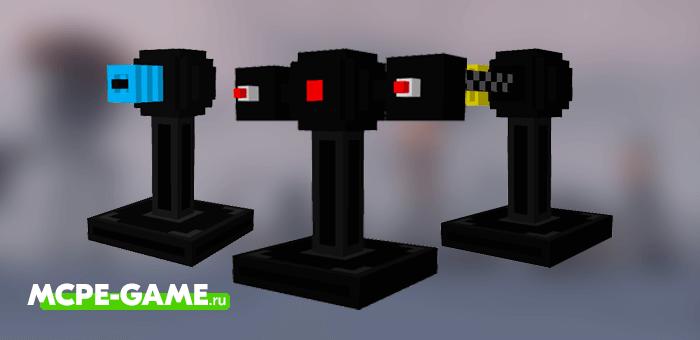 Minecraft Turrets Addon