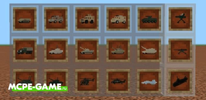 Minecraft WarVehicles Add-on